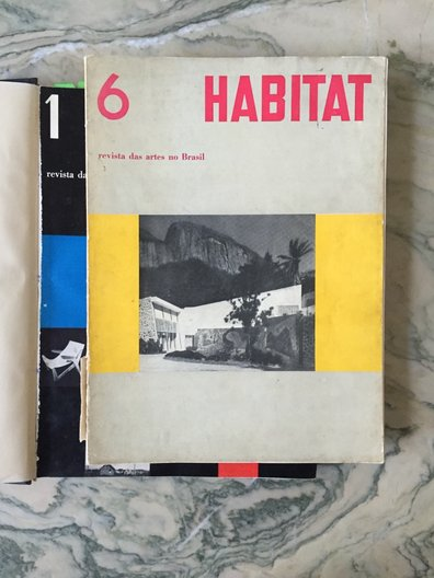 Copies of Habitat at Instituto Lina Bo e Pietro M Bardi © JULIA, LINA BO BARDI FELLOW 2016