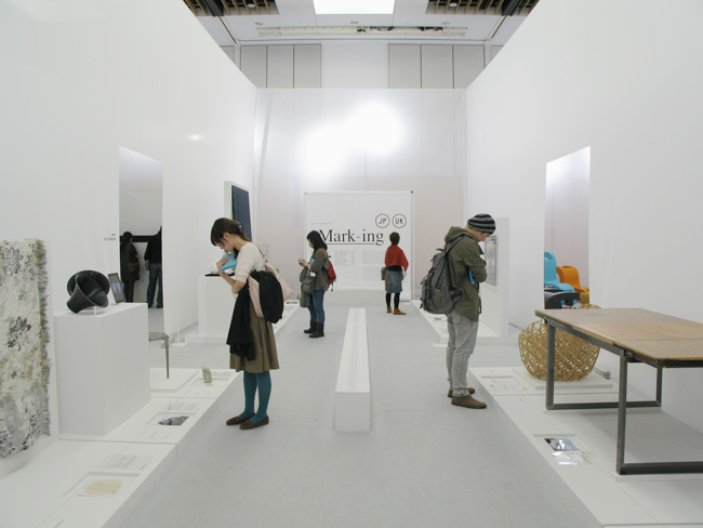 Mark-ing at Tokyo Design Tide. Picture Courtesy of E&Y