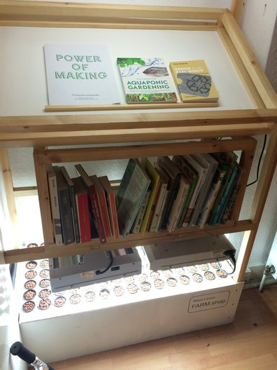 Maker Library at Farm Shop  ©John Nussey