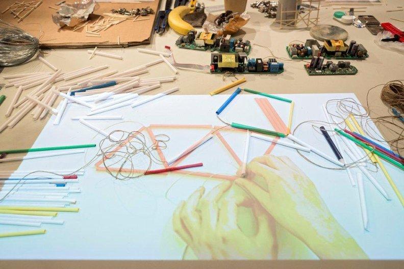 Maker-table  Photo Credit:  ©Vitra Design Museum | Photographer: Bettina Matthiessen