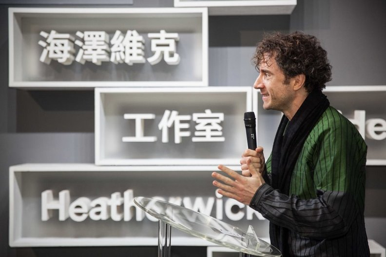 Thomas Heatherwick PHOTO: Oscar Liu, ©British Council Taiwan