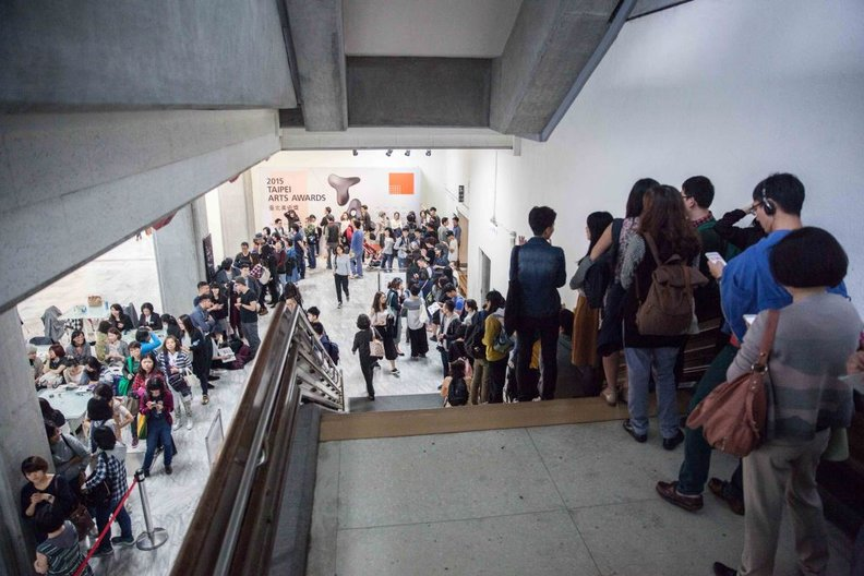 The audience awaits Thomas Heatherwick's talk PHOTO: Oscar Liu, ©British Council Taiwan