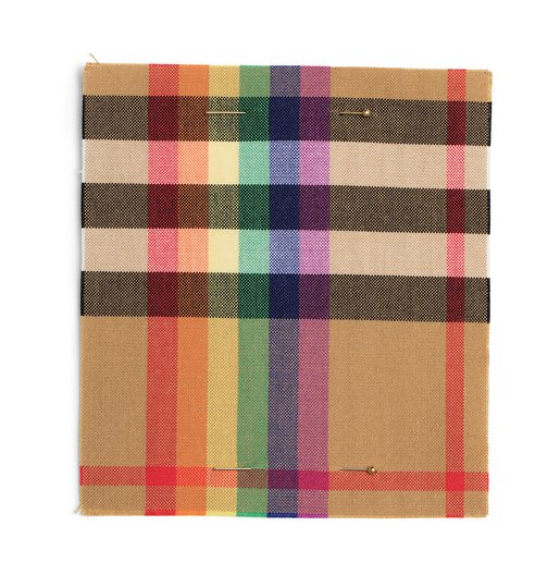 Burberry Rainbow Check © Design Museum