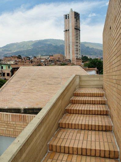 Roof terrace, Centro Cultural Moravia © Freya Cobbin
