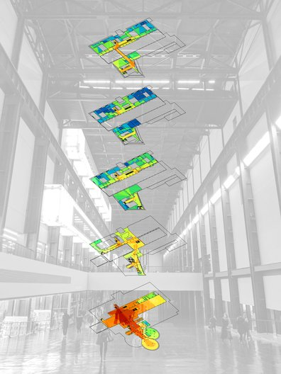 Tate Modern integration mapping © Gregorio Maya