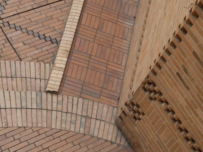 Brick entrance details, Archivo General de la Nacion © Freya Cobbin
