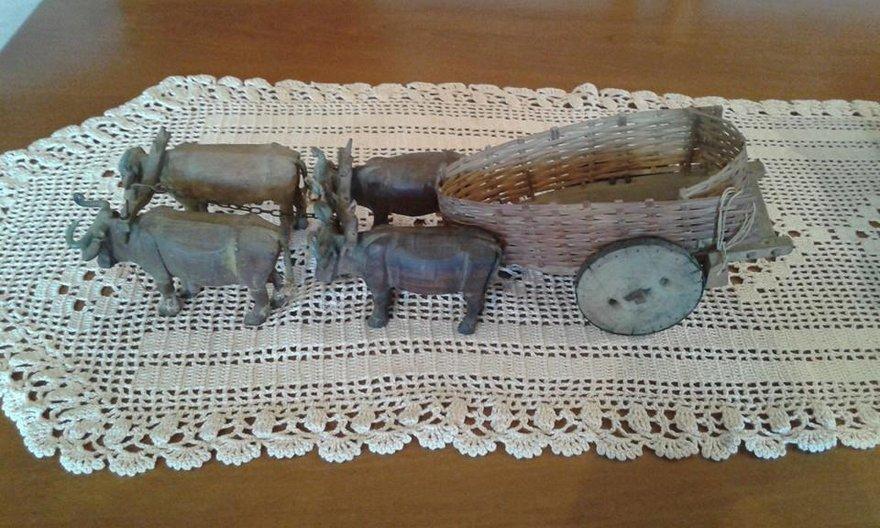 Carrinho de boi by Grandpa Tonico, courtesy of Tristão family © Anya Teixeira