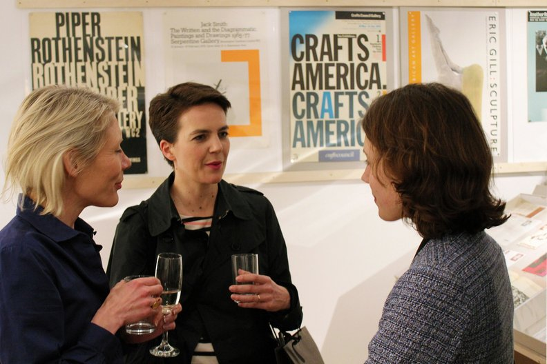 Curator Emily King (left). Photo: Alice Masters