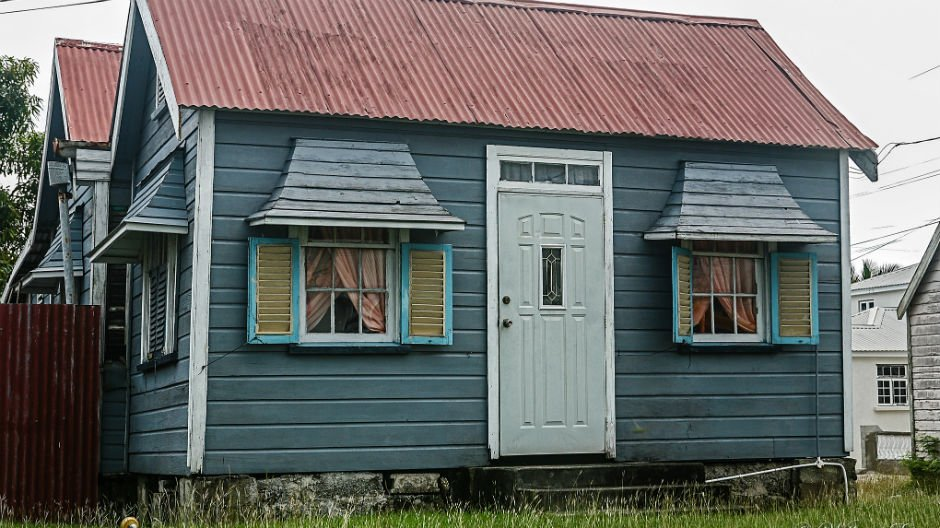 Traditional chattel Houses in Barbados