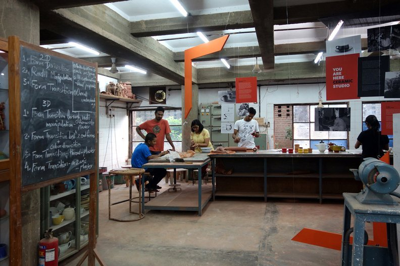 National Institute of Design in Ahmedabad Tom Wilson