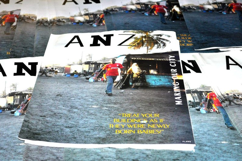 Tanzania, ANZA Magazine headquarters; Image courtesy of Benedikt Boucsein