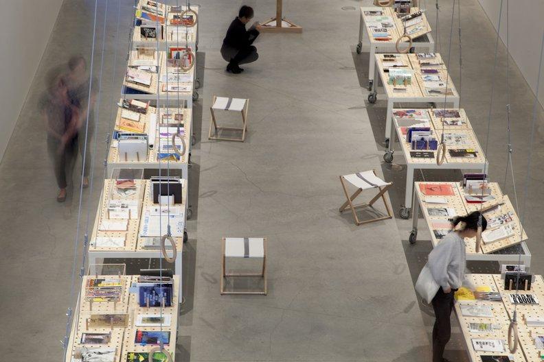 Melbourne Archizines at RMIT Design Hub, Melbourne, 2013 Photography: Tobias Titz