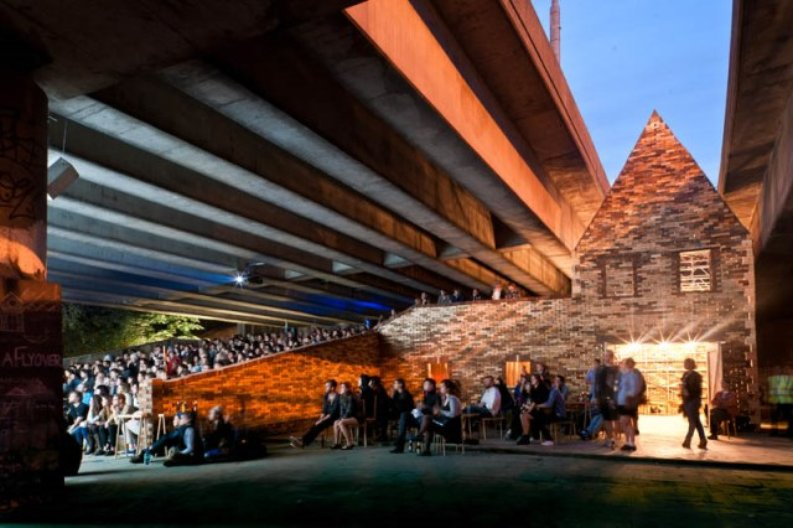 Folly for a Flyover by Assemble (2011). Image (c) Lewis Jones