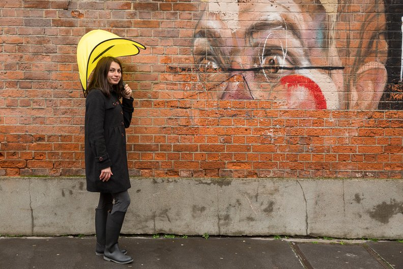 Last year's finalist Ayca Dundar - Pop Umbrella © Simon Bohrsmann