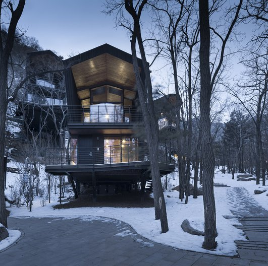 BCKJ, 2017, Clove Valley Eco Hotel, Beijing, China Yaoli