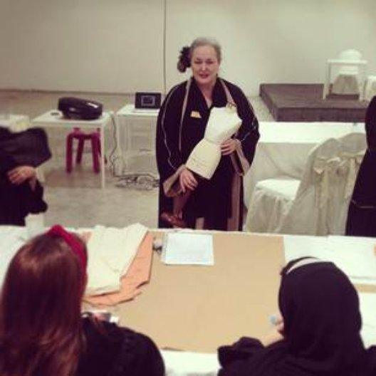 University of Brighton workshop in Riyadh. Photo: Noor Kuraidah