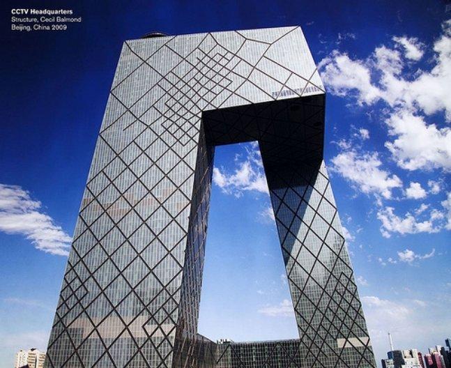 CCTV Headquarters, designed by Cecil Balmond