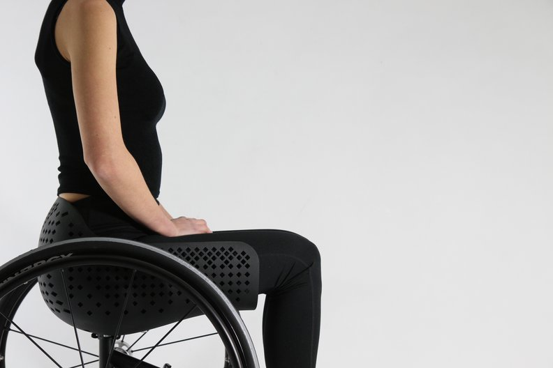 Modular wheelchair system for 'Disrupt Disability' © Cellule