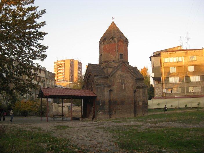 Church in Yerevan, Photo: Sophie Parry