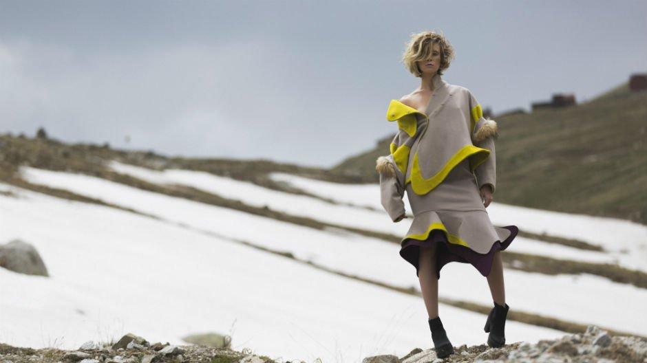 Designer: Tolegen Photographer: Marina Karpykova Model: Maria Popova