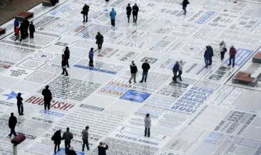 The Comedy Carpet. Image courtesy: Why Not Associates