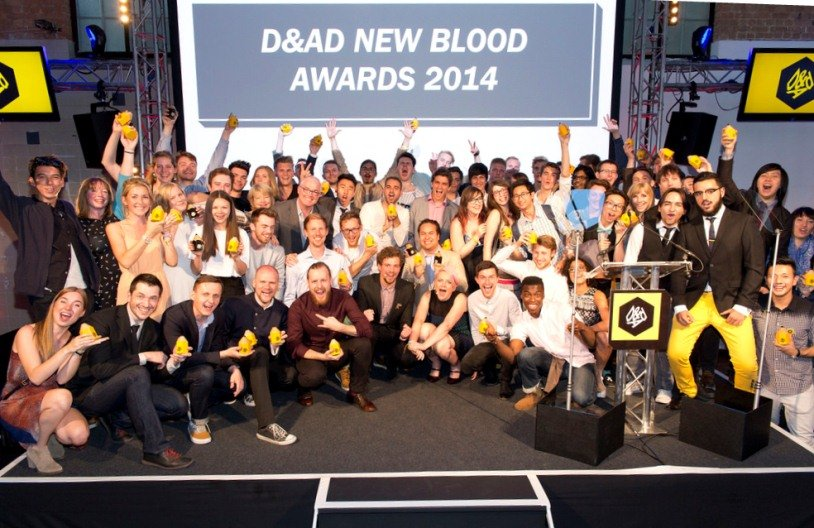The winners of D&AD New Blood Awards 2014 © All rights reserved by D&AD