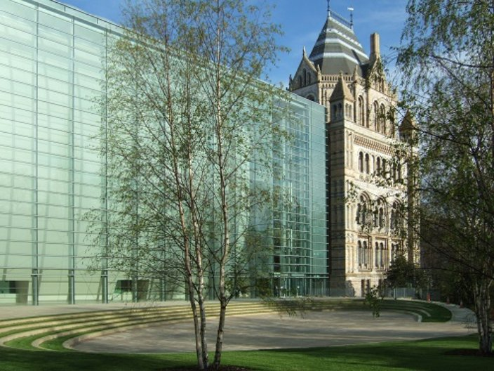The Darwin Centre, by C.F. Møller  Courtesy of Royal Danish Embassy in London