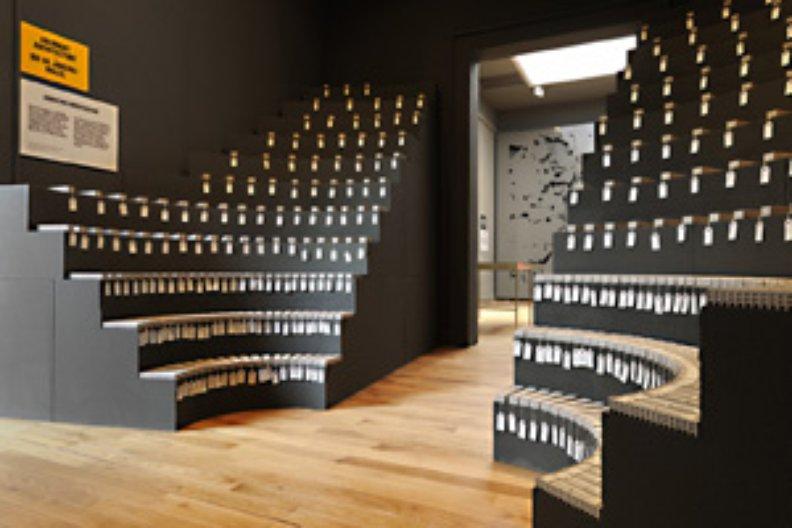 aberrant architecture exhibit. Photograph by Cristiano Corte