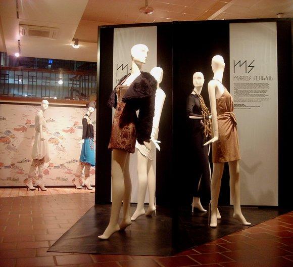 Marios Schwab exhibit