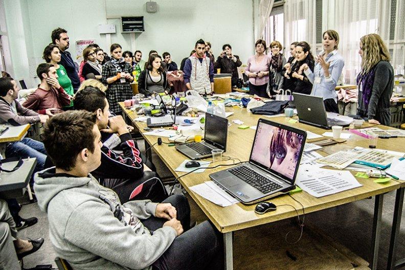Inclusive zone workshop. Image courtesy Zarko Koneski