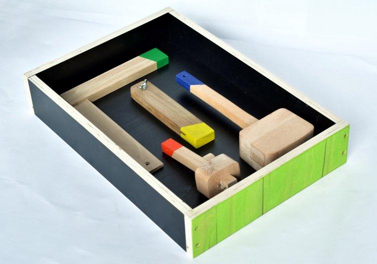 The tools created by the wood group. Image courtesy Zarko Koneski