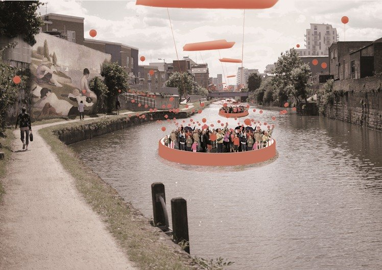 Culture – Limehouse Cut   Delvendahl Martin (UK) and GAISS Architects (Latvia)  Delvendahl Martin and GAISS Architects