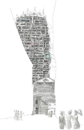 10x10 Almaty Drawing  Derek Draper - Atomik Architecture