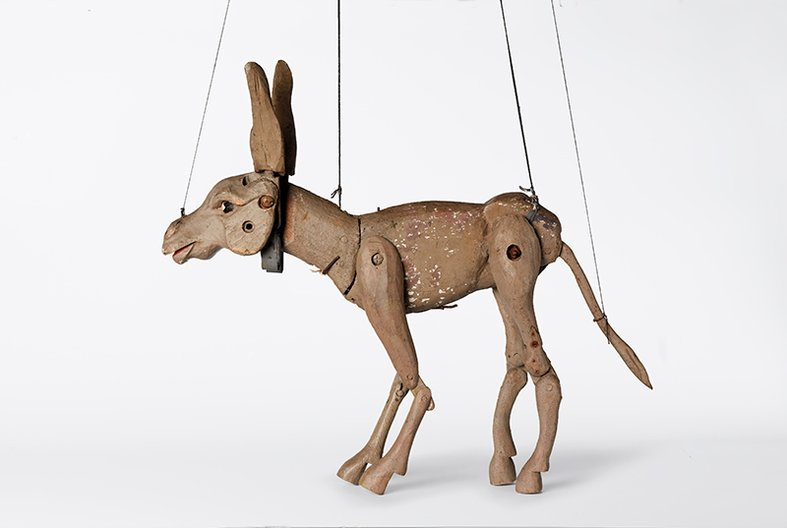 Puppet used by Hilary Pepler  © DITCHLING MUSEUM
