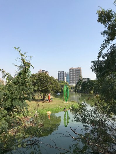Ecological park and sculpture garden at KMFA