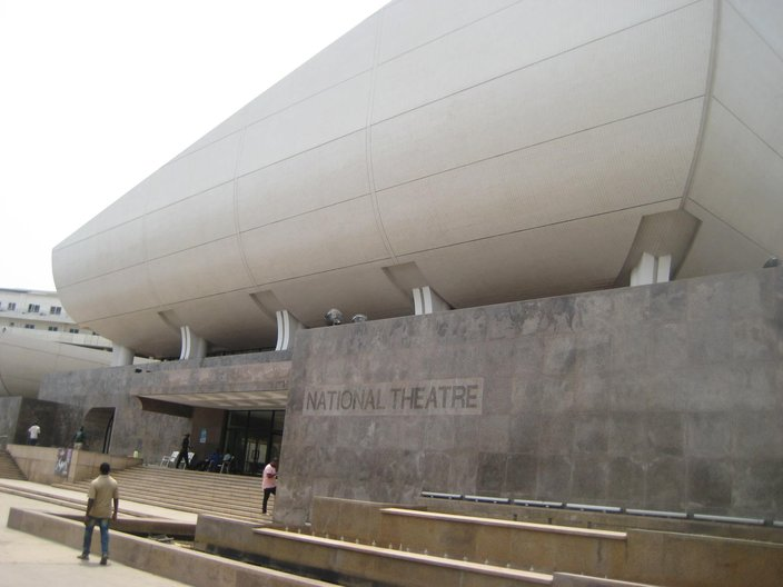 Exterior of the National Theatre © Anna Landreth