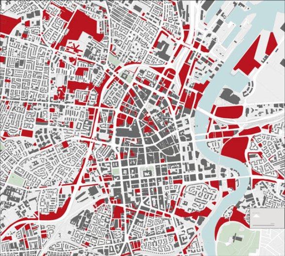 Forum for Alternative Belfast - 'Missing City' Map, Belfast