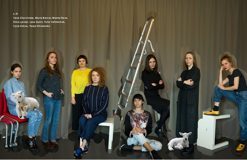 Fanzine Kyiv designers Foxall Studio