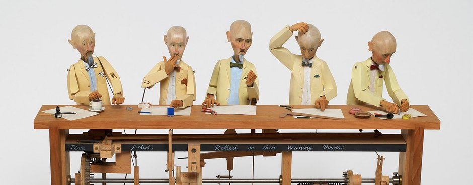 Automata, Paul Spooner, 1983 - Crafts Council Collection Todd White Art Photography