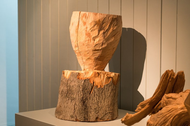 Axed Vessel, Forrest & Found ©  Ditchling Museum