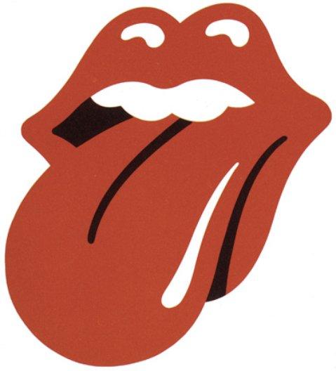 John Pasche, original design for the Rolling Stones, 1971 copyright: Musidor B.V.