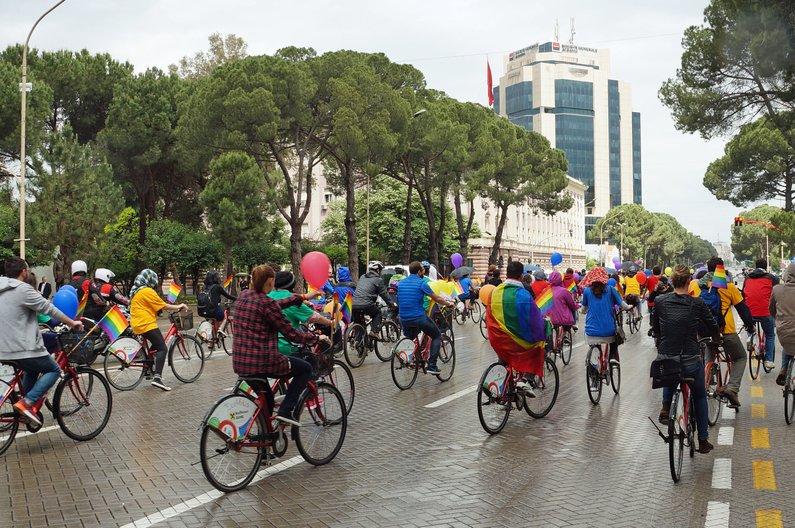 Gay Pride, Albania © Marc Cairns