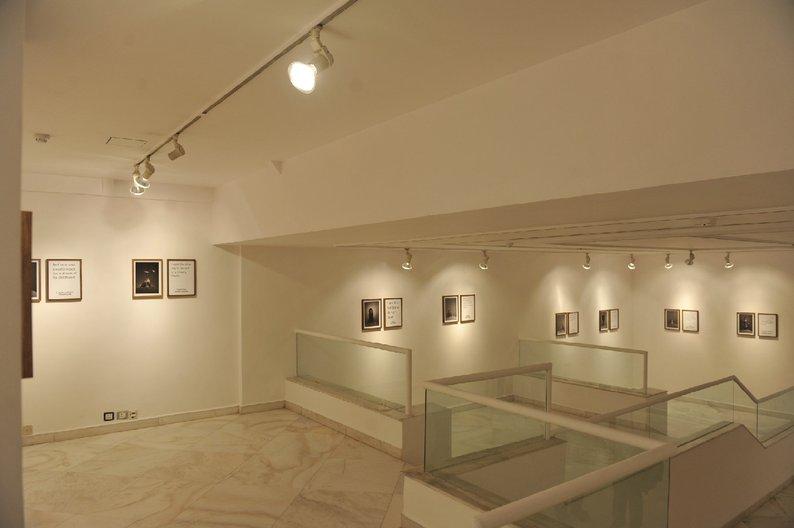 Granta exhibition at the British Council Delhi gallery