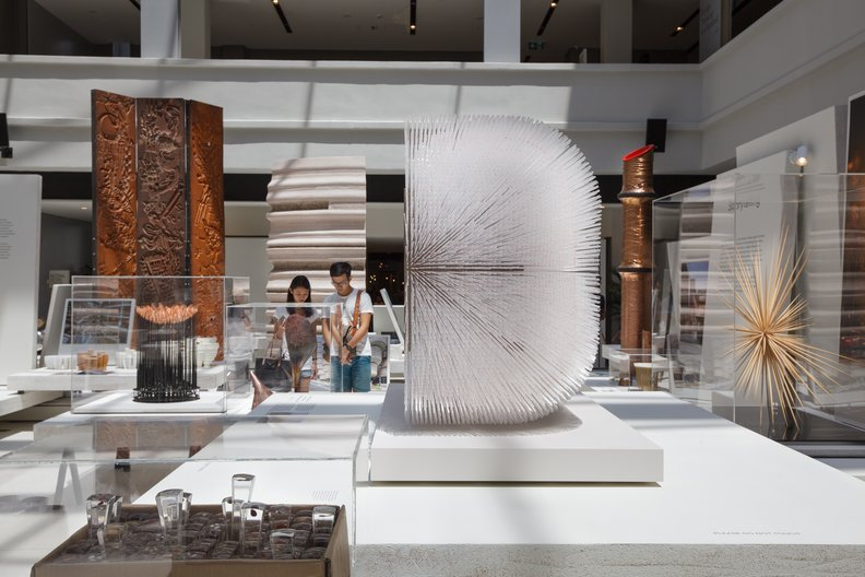 Exhibition view at the National Design Centre, Singapore © Fabian Ong