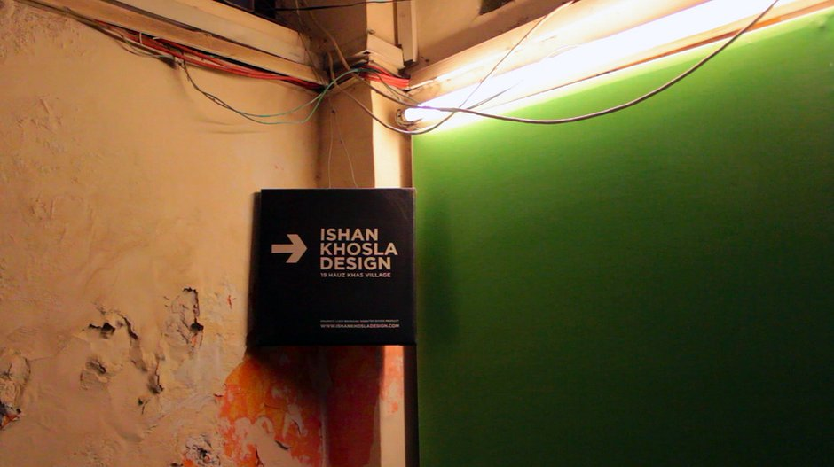 Hauz Khas Village open studios. Photo: Alice Masters