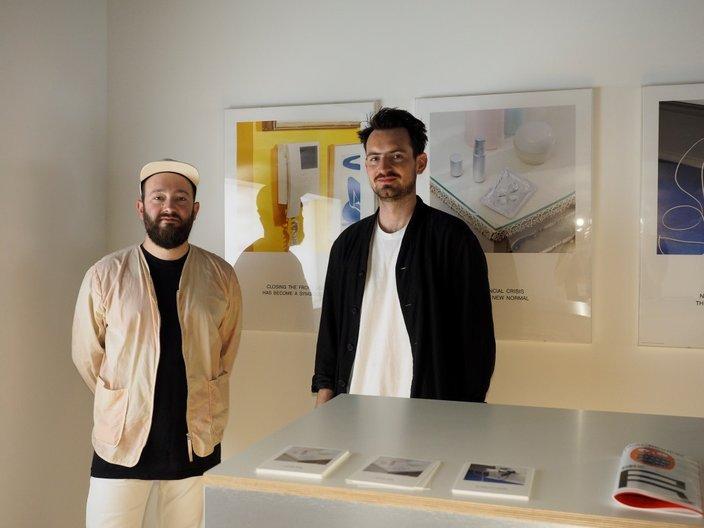 Rory McGrath & Olly Knight of OK-RM, visual identity and design for Home Economics © Cristiano Corte