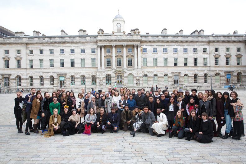 IFS 2016 Fashion Utopias group photo © Piers Allardyce