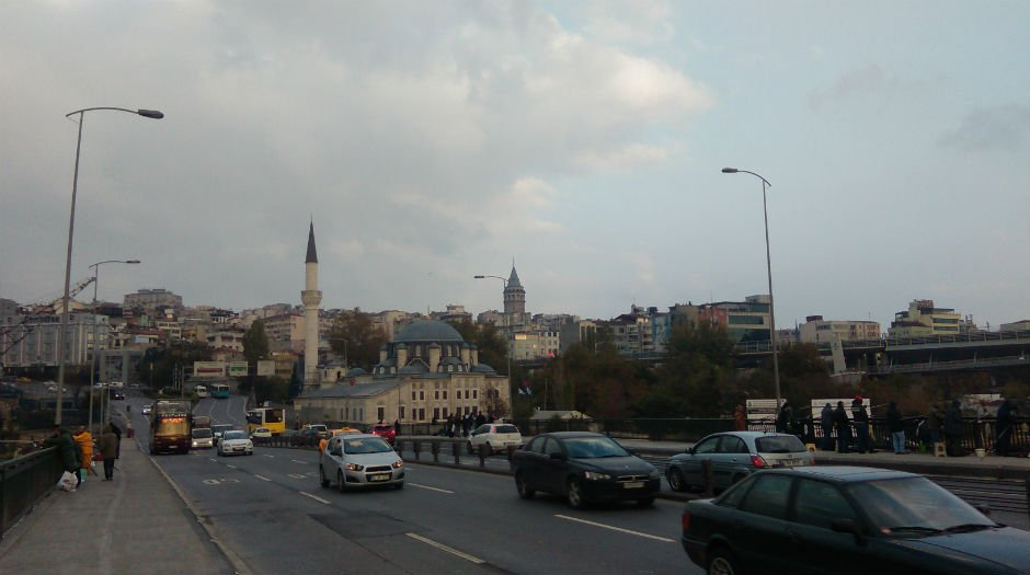 Galata Tower from the Galata Bridge Niamh Tuft