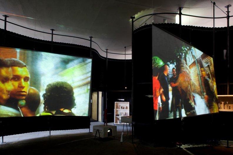 Lina Bo Bardi: Together; installation view, British Council, London photo by Ioana Marinescu