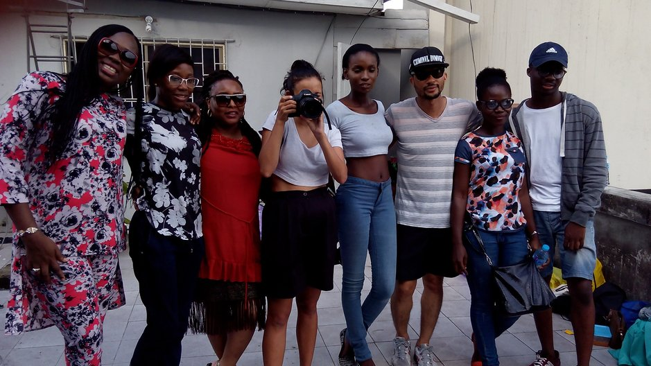 Behind the scenes with the 'Ready to Wear' group © Lagos Fashion Week